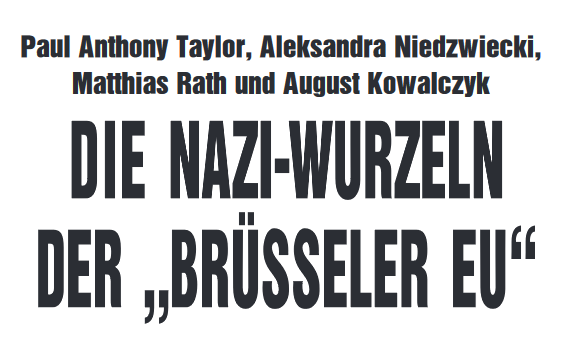 Coverbild Nazis EU